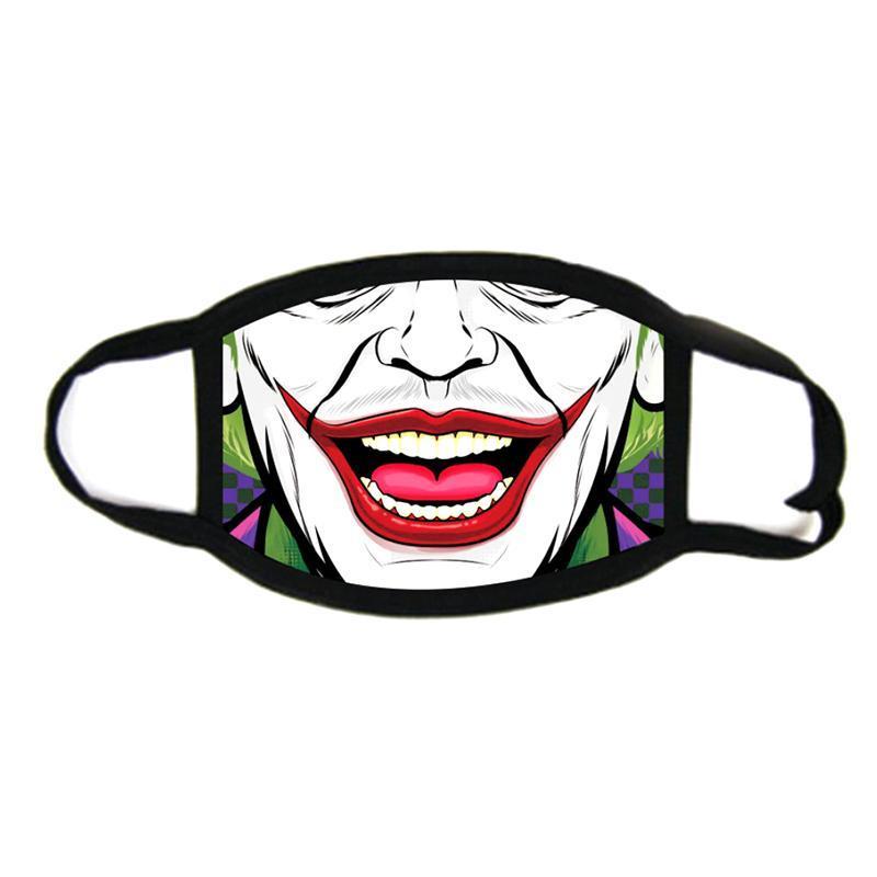 Skull 3D printing Designer face mask cotton reusable face masks Out Door Sport Riding Masks Fashion Cotton Festive Party Mask Designer Mask