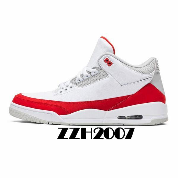 2020 Newest 3 3s Men Basketball Shoes Black Cat Mocha Sport Blue wolf Cool Grey Varsity Royal Pure Money mens trianers Sports Sneaker 40-47