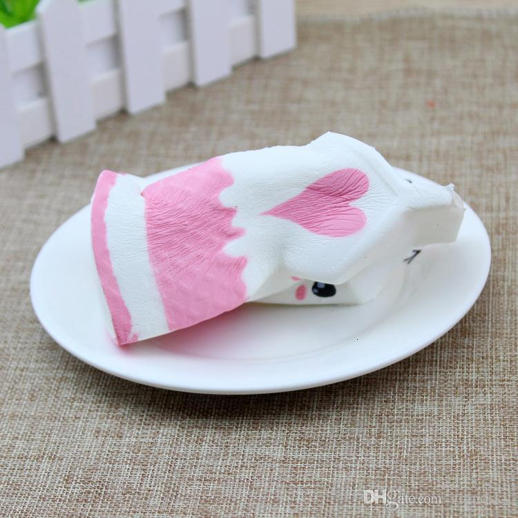 New Cute Jumbo Squishy Milk Box Cartoon Slow Rising Toys Phone Straps Pendant Sweet Cream Scented Bread Kids Fun Toy Gift