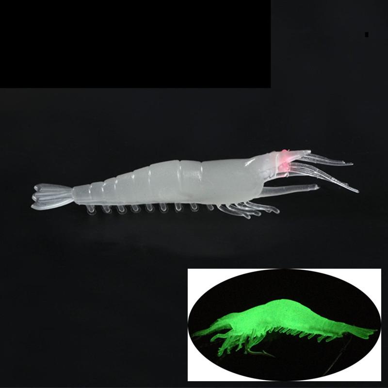 7cm 3.5g Simulation Shrimp PVC Fishing Lure Soft Baits & Lures BL_4