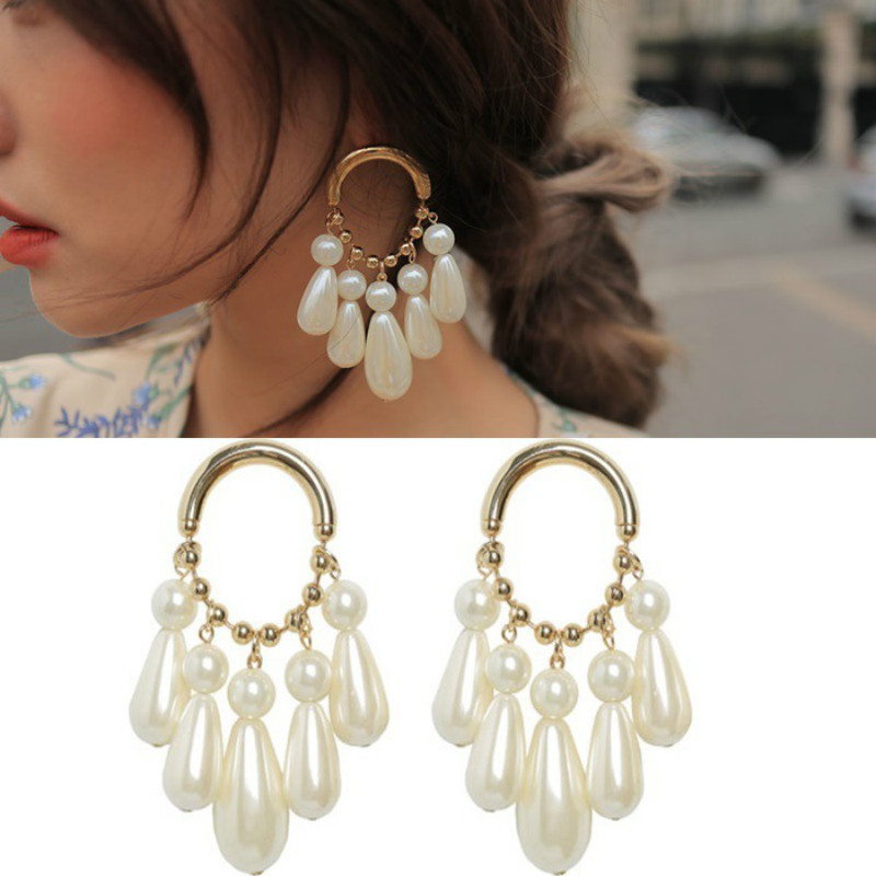 2019-New-Arrival-Simulated-pearl-Vintage-Water-Drop-Women-Dangle-Earrings-Korean-Creative-Fashion-Jewelry-Earrings (1)