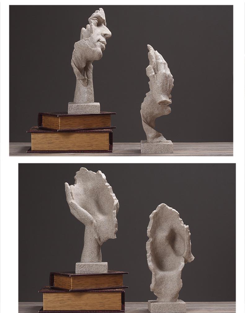 Resin Silence Figurines (10)