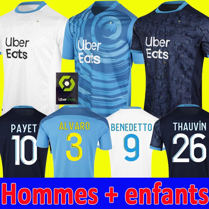 DHgate coupon: 20 21 Olympique De Marseille soccer jerseys 2020 2021 OM CUISANCE maillot de foot CUISANCE BENEDETTO KAMARA football shirt THAUVIN PAYET