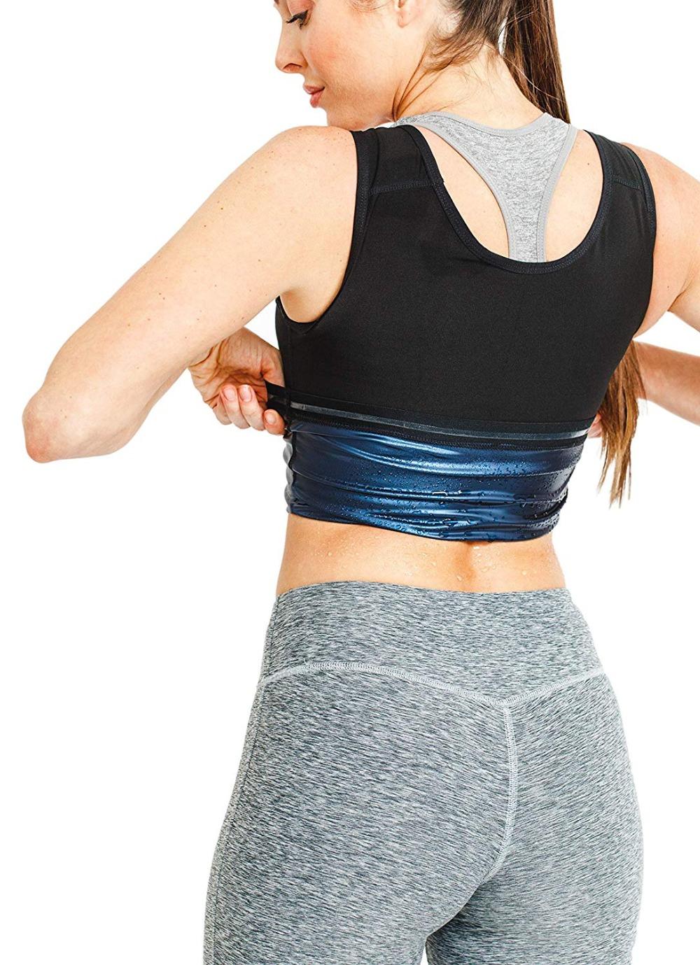 CXZD Sweat Shaper Vest for Men Women Slimming Belt Belly Slimming Vest Body Shaper Fat Burning Shaperwear Waist Traine Waist Sweat Corset (3)