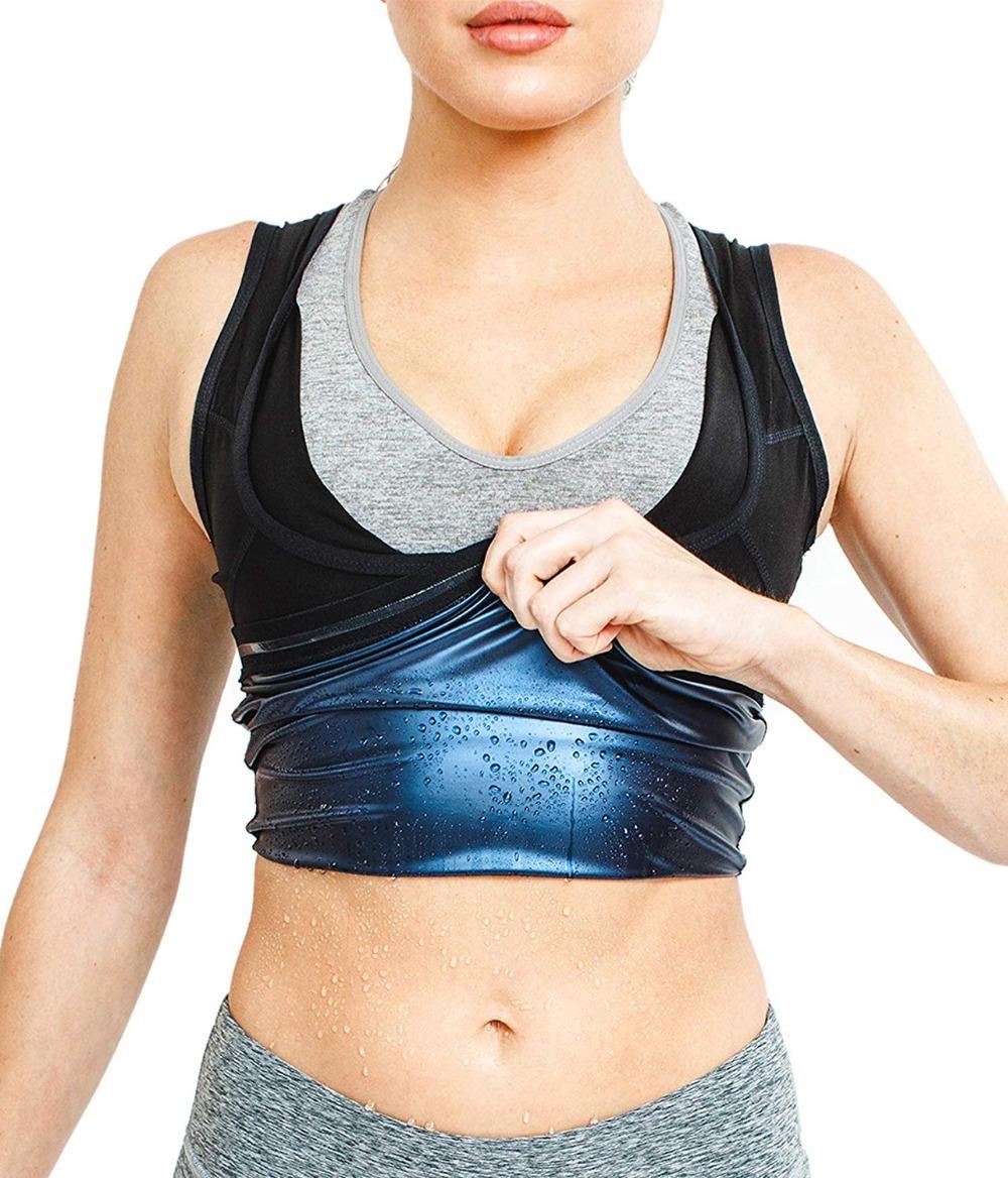 CXZD Sweat Shaper Vest for Men Women Slimming Belt Belly Slimming Vest Body Shaper Fat Burning Shaperwear Waist Traine Waist Sweat Corset (2)