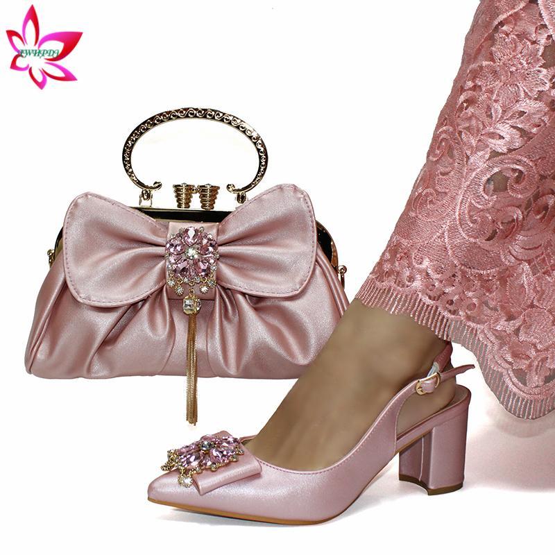 Discount Pink Shoes Matching Bag | Pink
