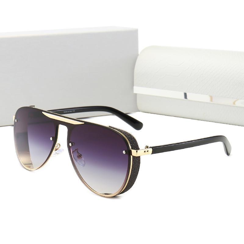 2021 Limted Edition fashion designers Women Men Metal Vintage Sunglasses Fashion Style Square Frameless UV 400 Lens Original Box and Case