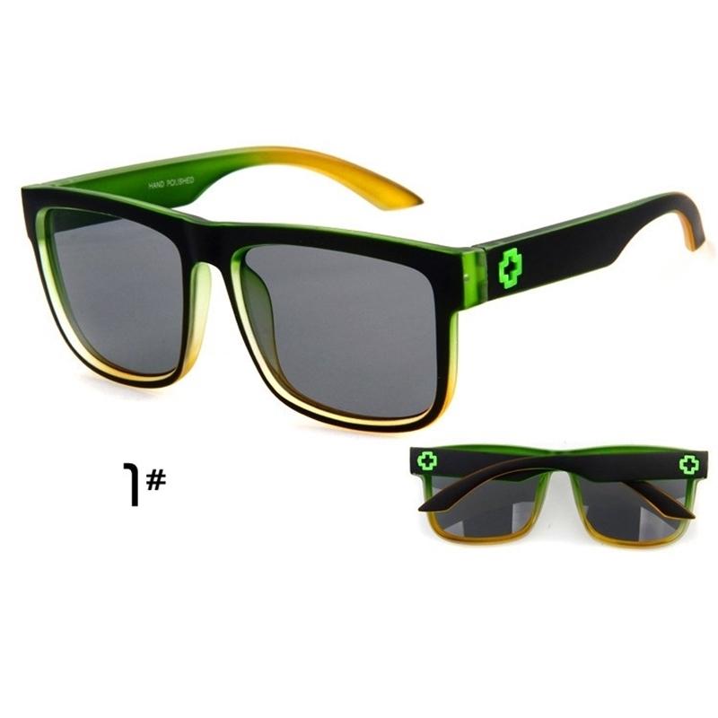 Sunglasses Men Sport Sunglasses Men Driving Mirror Coating Points Black Frame Eyewear Male Sun Glasses UV400 (3)