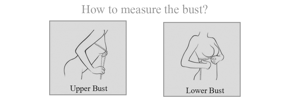 How to measure the bust