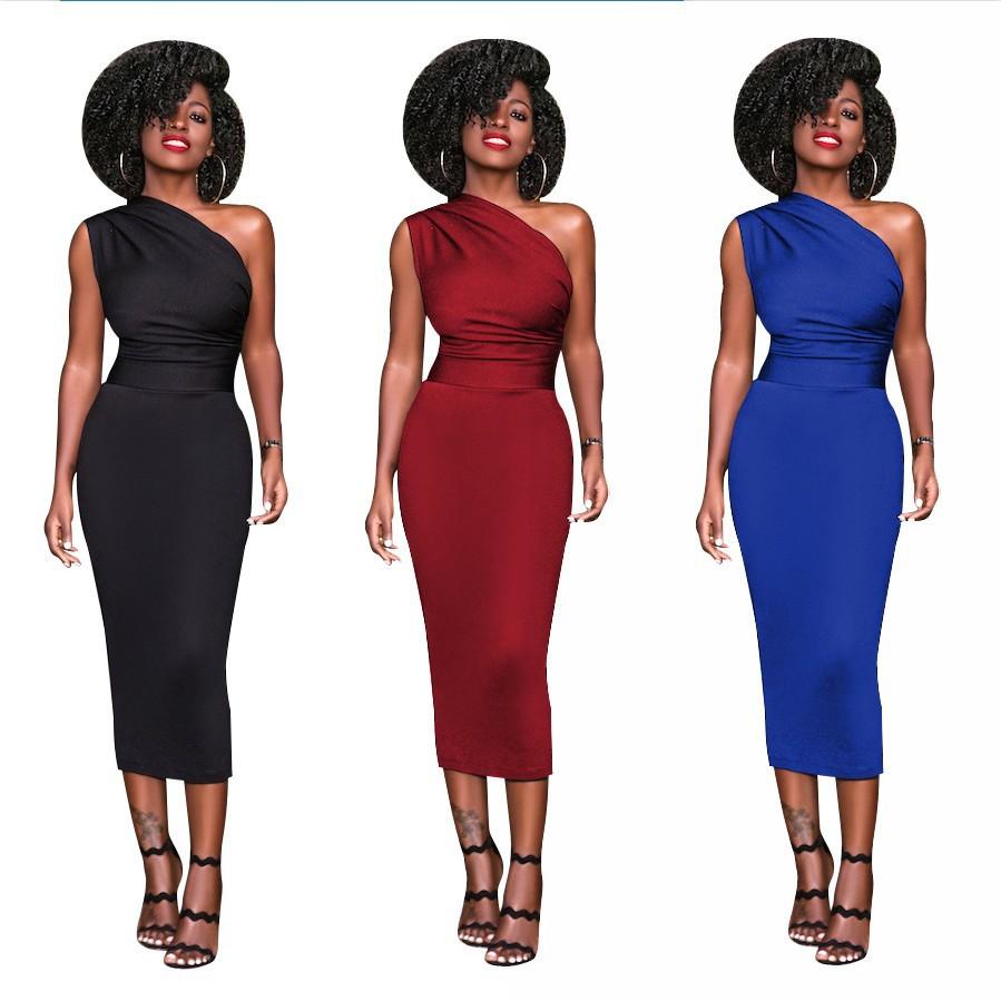 bodycon knielange kleid elegante dame online großhandel