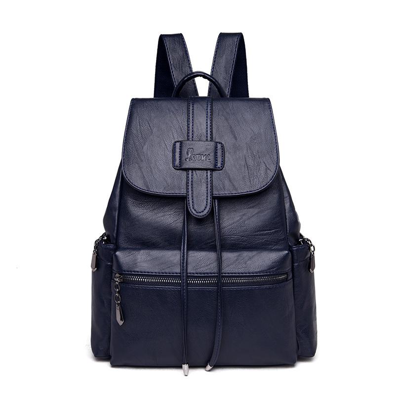 Women Backpacks Leather Female Travel Shoulder Bag Casual Backpack High Quality Women Bag School Bag Backpack Girl Mochila