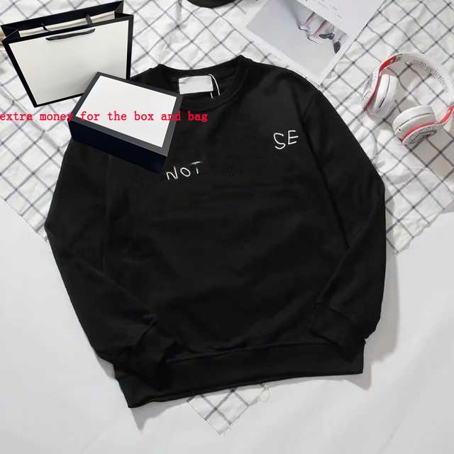 20FW Men Hoodie Hip Hop Mens Streetwear Letter Hoodie Mens Women Hoodies Skateboards Hoodie Pullover Sweatshirt Size M-2XL