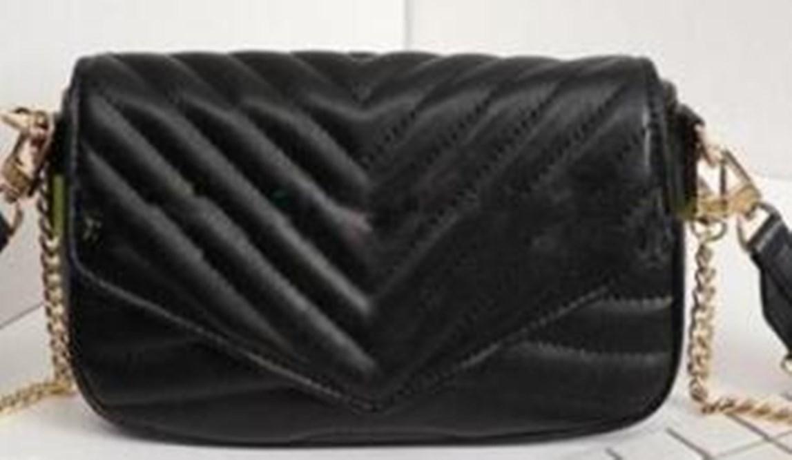 Fashionn bags lady Genuine Leather handbags with letters Shoulder Handbag Pouch Ladies Shoulder Bag Handbags Coin Purse