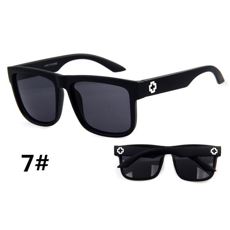 Sunglasses Men Sport Sunglasses Men Driving Mirror Coating Points Black Frame Eyewear Male Sun Glasses UV400 (8)