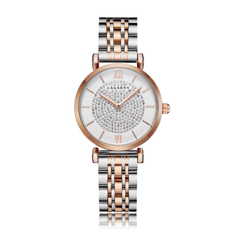 drop shipping shopify rose gold stainless steel bracelet watch for women fashion ladies quartz watches shinning diamonds female clock waterproof free shipping best gifts (8)