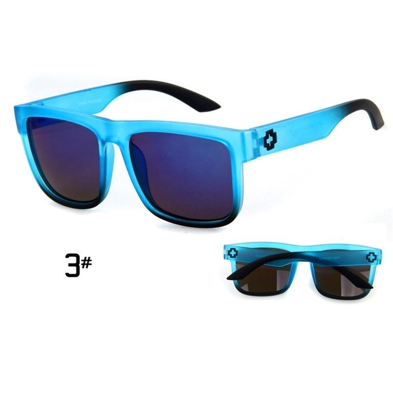 Sunglasses Men Sport Sunglasses Men Driving Mirror Coating Points Black Frame Eyewear Male Sun Glasses UV400 (4)