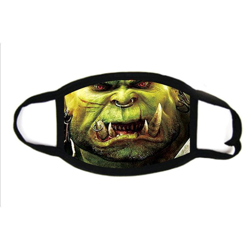 Skull 3D printing Designer face mask cotton reusable face masks Out Door Sport Riding Masks Fashion Cotton Festive Party Mask