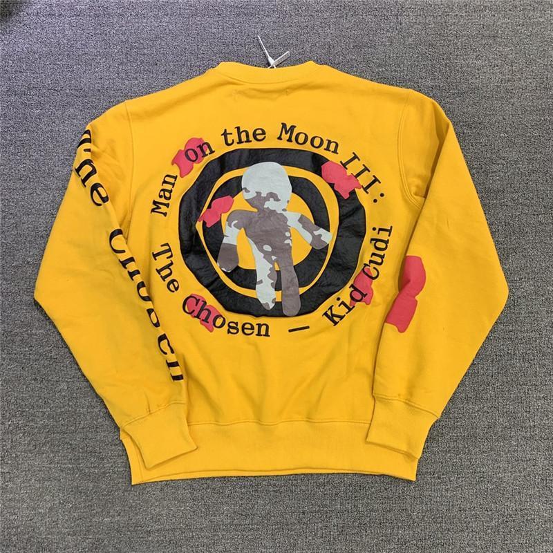 Foaming Printing Beautiful Sweatshirts Men Women 1 High Quality Oversize Crewneck Hoodie