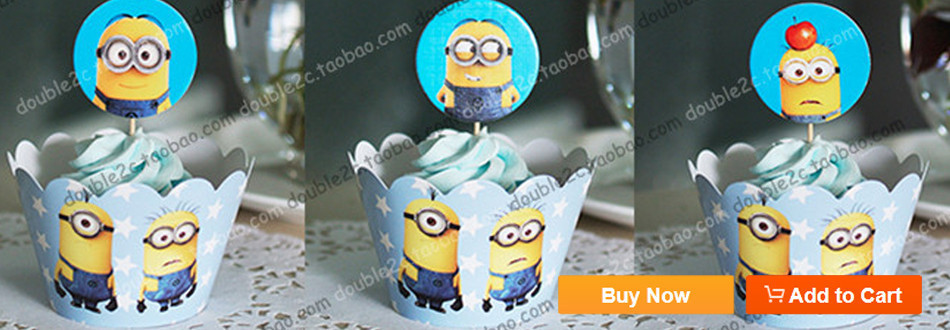 Minions wrappers