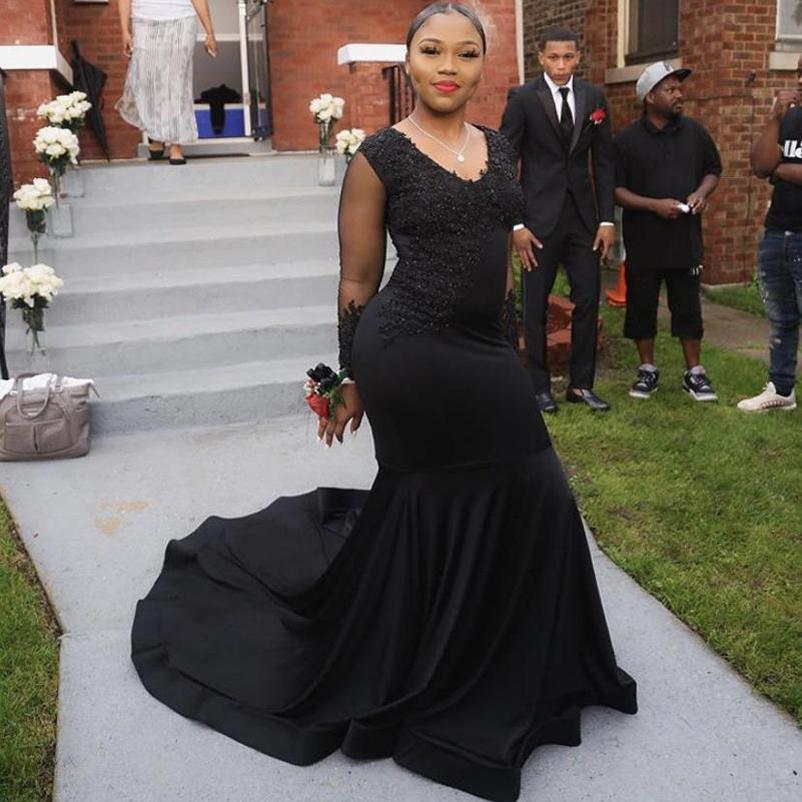 Plus Size Mermaid Prom Dresses Cheap