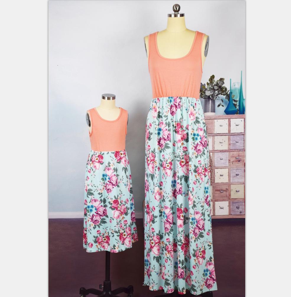Summer new fashion sleeveless printed women