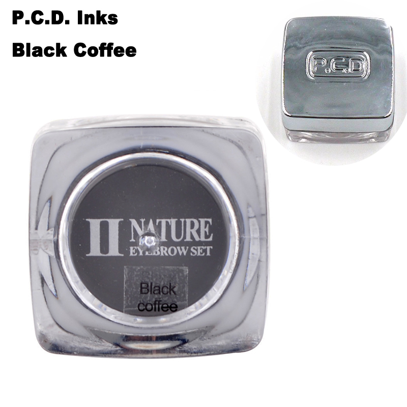 PCD-Bright-Coffee-Paint-Professional-Eyebrow-Micro-Tattoo-Ink-Set-Lips-Microblading-Permanent-Makeup-Pigment-Colorfastness-Black-coffee