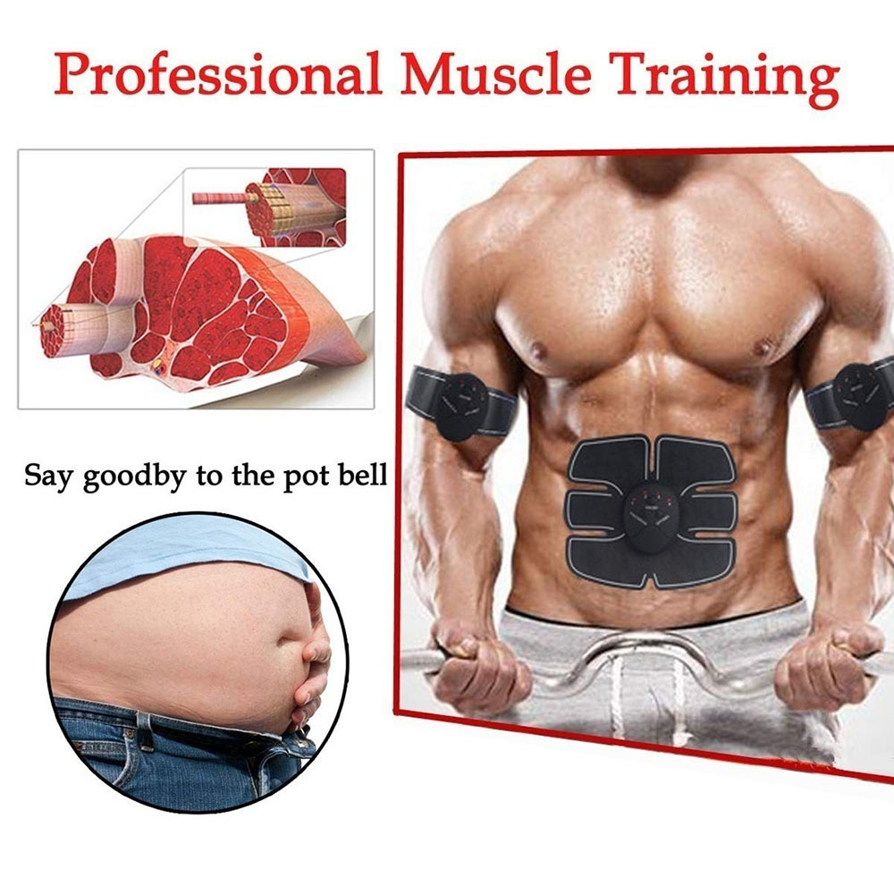Abdominal Muscle Toner Wireless ABS Workout Home Gym Office Fitness Equipment Training Men Women Electrostimulation Musculaire (1)