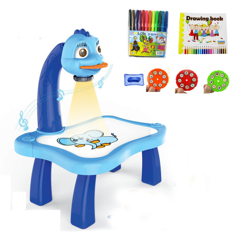 Children-Kids-Multifunctional-Educationally-Drawing-Toys-Sets-Painting-Toy-projector-Learning-Drawing-Desk-12-Pens-24