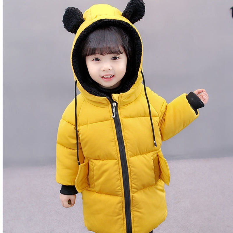 COOTELILI Winter Jackets For Girls Boys Winter Overalls For Girls Warm Coat Baby Boy Clothes Children Clothing 80-130cm (9)