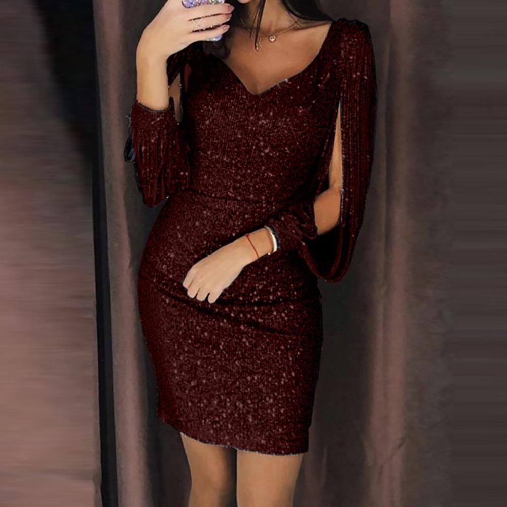 Dresses-woman-party-Dress-bodycon-Sexy-sequin-dress-night-Shiny-dress-Tassel-glitter-vestidos-dresses-for