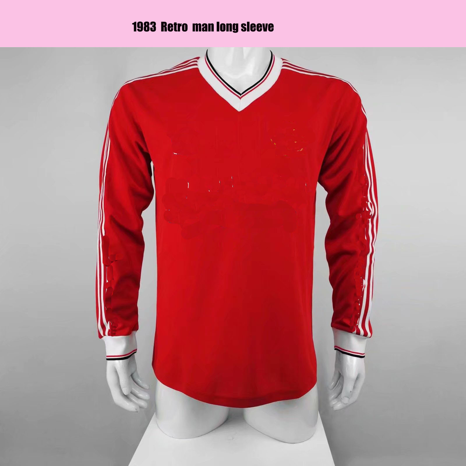 MAN UTD 1982 1983 retro long sleeve soccer jersey red WHITESIDE MAN United 82 83 Classic Vintage football shirts robson man united fans tops