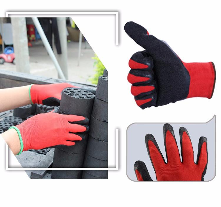 OZERO Work Gloves Stretchy Security Protection Wear Safety Workers Welding For Farming Farm Garden Gloves For Men & Women