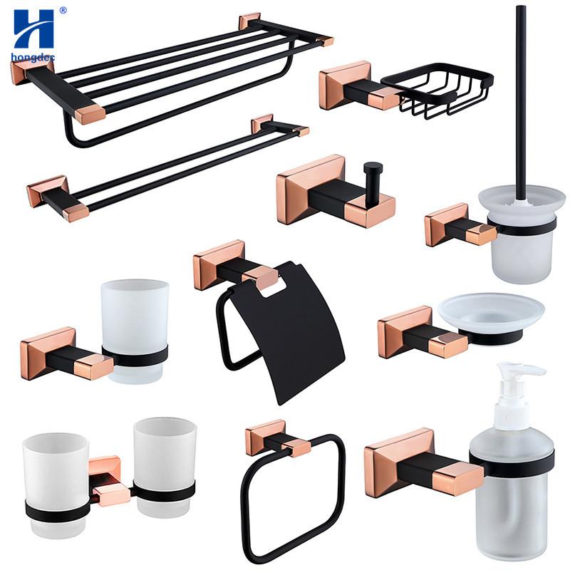 Black And Gold Bathroom Set Online Wholesale Distributors Black And Gold Bathroom Set For Sale Dhgate Mobile