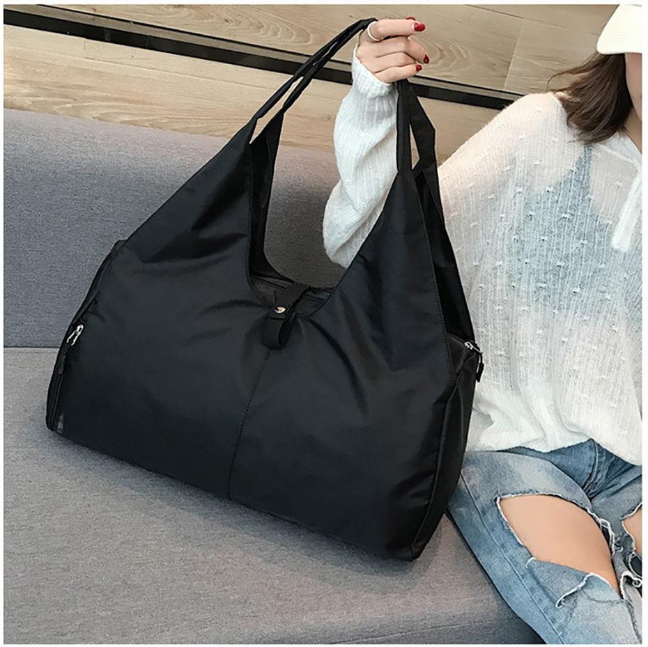 Waterproof Yoga Mat Bag Gym Fitness Bags for Women Men Training Sac De Sport Travel Gymtas Nylon Outdoor Sports Tas Sporttas30