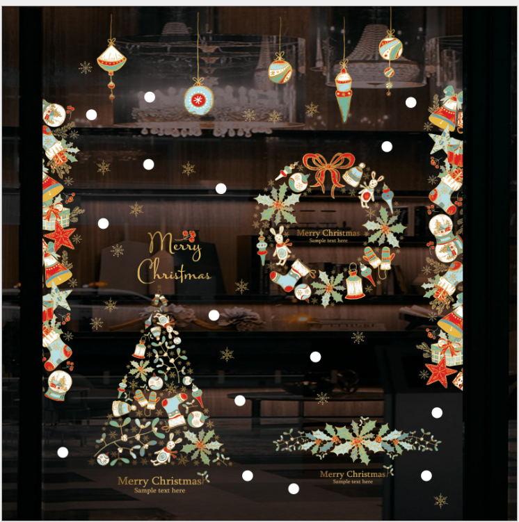 Discount Stick Christmas Window Decorations Stick Christmas Window Decorations 2020 On Sale At Dhgate Com