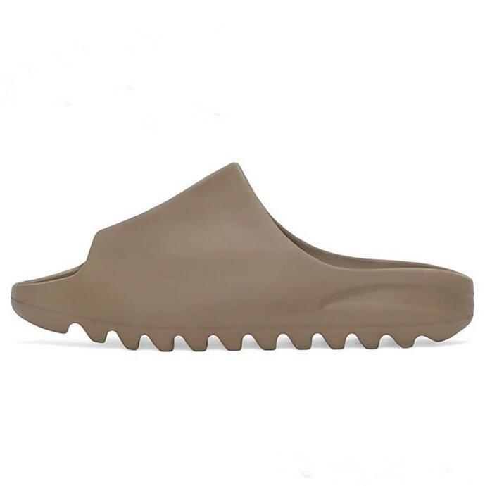 Foam Runner  West Slippers Bone White Triple Black Resin Slides Sandals Men Women Fashion Loafers Slipper