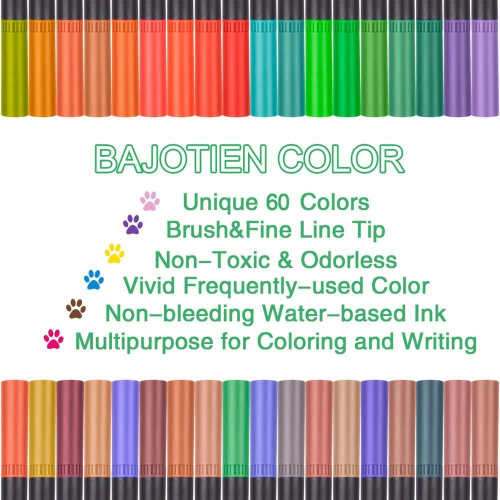 Watercolor-Pen-Brush-Markers-Dual-Tip-Fineliner-Drawing-for-bullet-Journal-Art-Markers-12-24-36