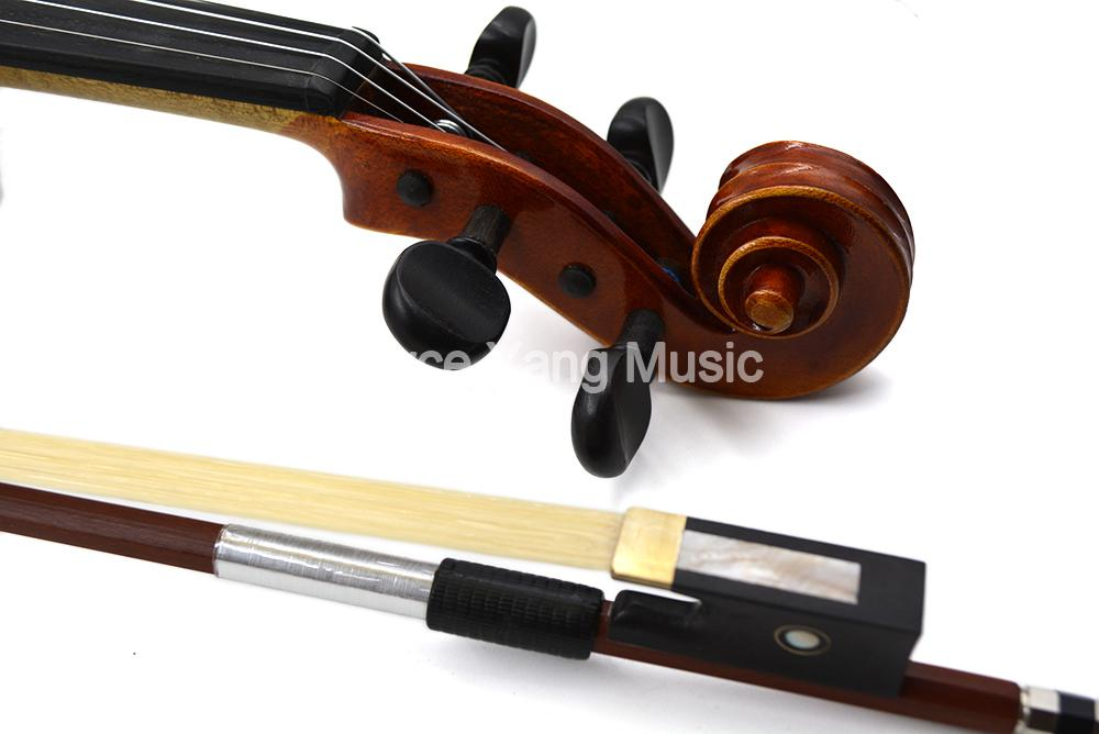 Lot 3 4//4 Full Size High Quality Arbor White Copper Horsehair Violin Bow Red