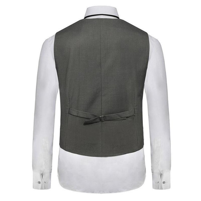 -suit-waistcoat-Men-s-Double-Breasted-Leisure-Business-Suit-Vest-Waistcoat-custom-Blue-grey-black (2)