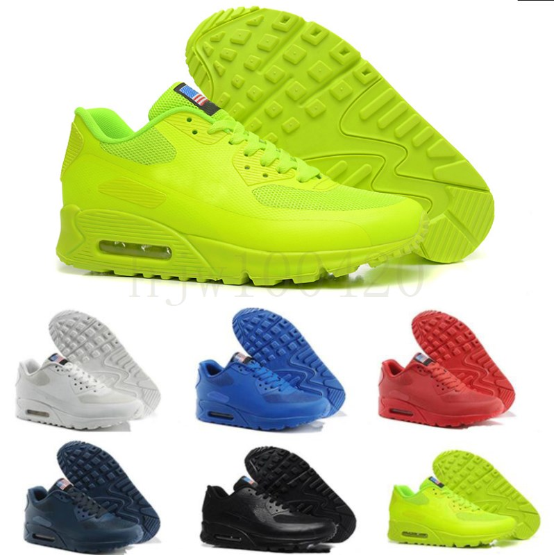2020 PRM 90s QS HYP Running Shoes Sale Online Fashion Independence Day Zapatillas USA Flag Sport Sneakers 90s des chaussures Size 36-46