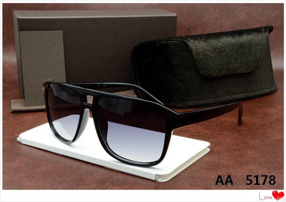 top Designer Tom Luxury New Brand Sunglasses Men Women Sunglasses Uv400 Eyewear Glasses Frame Polaroid Lens Ford 0392 5178 5179 0394 tot