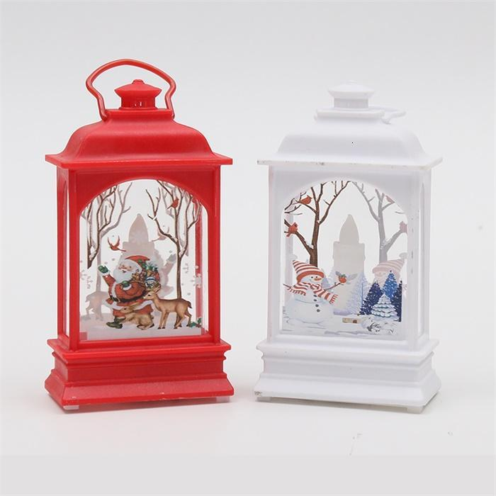Vintage Halloween Candle Lanterns with LED Flickering Flameless Candles for Indoor or Outdoor Hanging Lights decoration