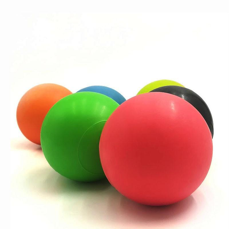 1PC Fascia Ball Lacrosse Muscle Relaxation Exercise Sports Fitness Yoga Peanut Massage Ball Trigger Point Stress Pain Relief