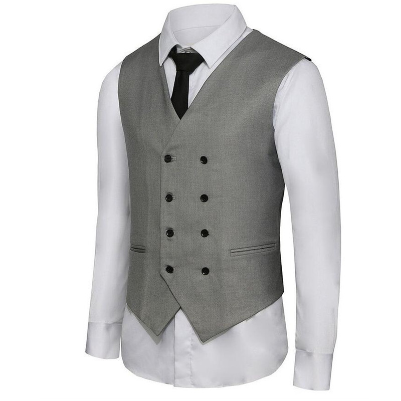 -suit-waistcoat-Men-s-Double-Breasted-Leisure-Business-Suit-Vest-Waistcoat-custom-Blue-grey-black (1)