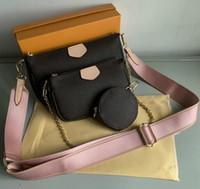 New Women Favorite Genuine Leather Fashion Handbags Multi Po...