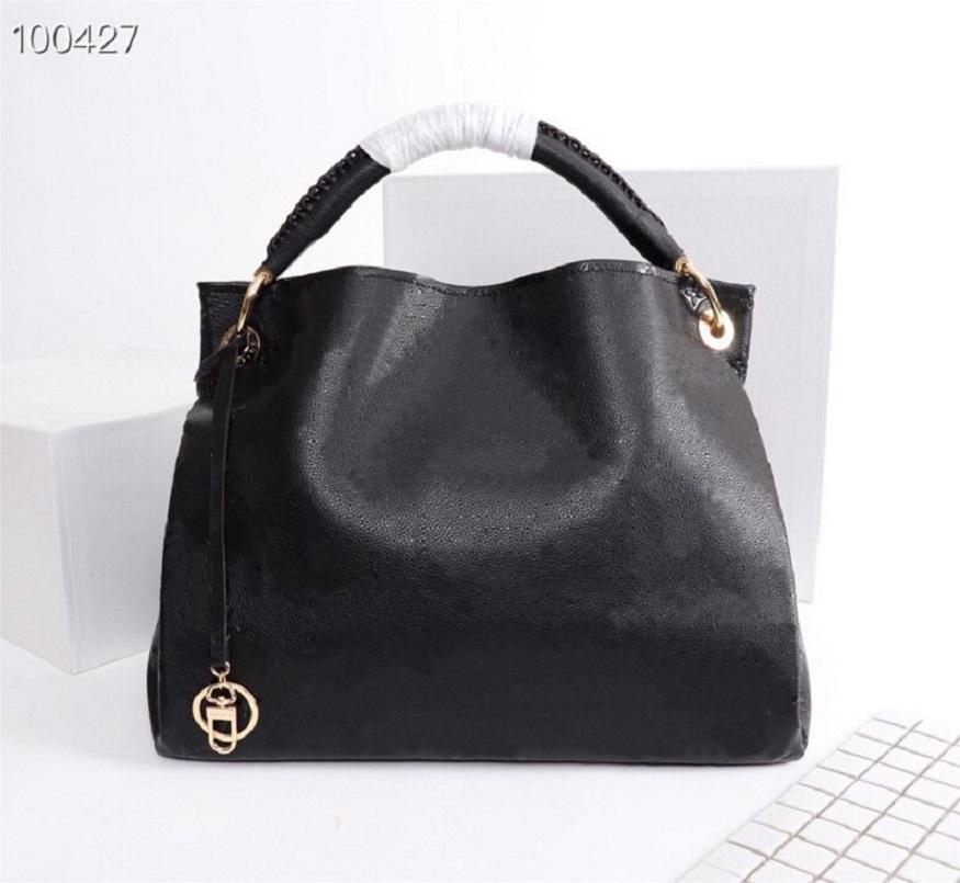 Original High Quality Fashion Designer Luxury Handbags Purses Artsy Medium Bag Women Brand Classic Style Genuine Leather Shoulder Bags
