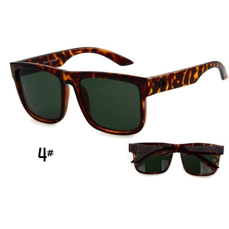 Sunglasses Men Sport Sunglasses Men Driving Mirror Coating Points Black Frame Eyewear Male Sun Glasses UV400 (5)