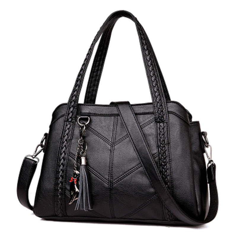 Women Shoulder Bag Large Capacity Handbags Tassel Tote Luxury Spiraea Messenger Bags Designer High Quality Leather Cute Cat Bags