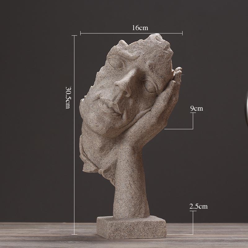 Resin Silence Figurines (7)