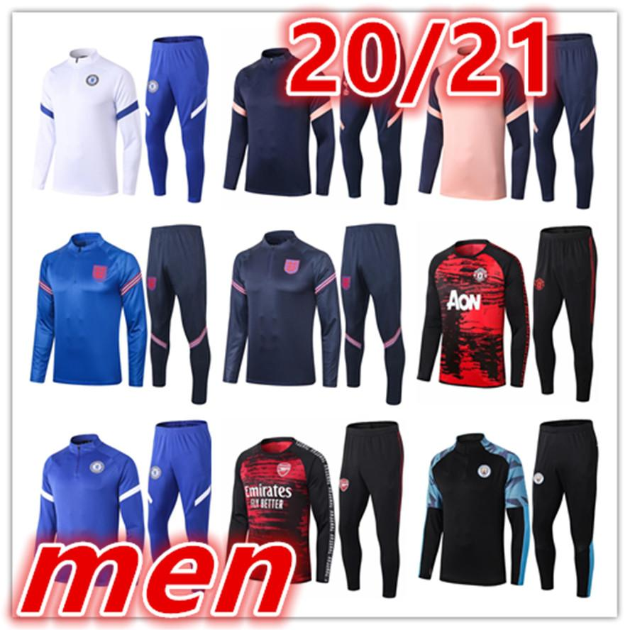 2020 2021 mens trainers soccer tracksuit 20 21 new soccer tracksuit football tracksuit football training suit jacket pants tracksuits